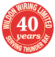 Wildon Wiring Limited - 40 Years!